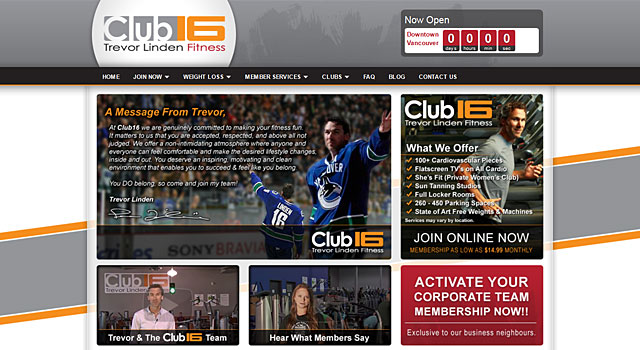 Club16 Trevor Linden Fitness