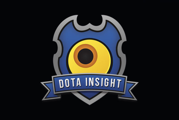 Dota Insight Logo Design