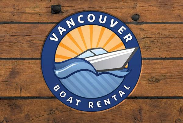 Vancouver Boat Rental Logo Design
