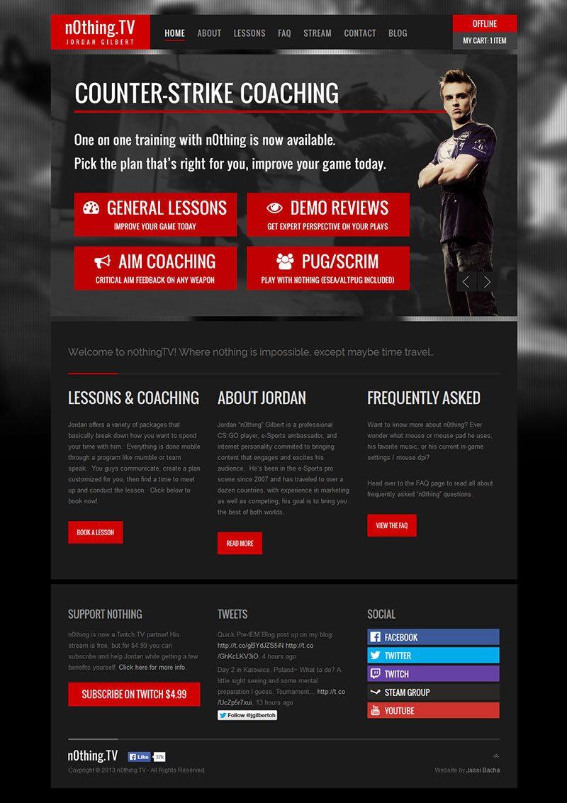 n0thingtv-web-design